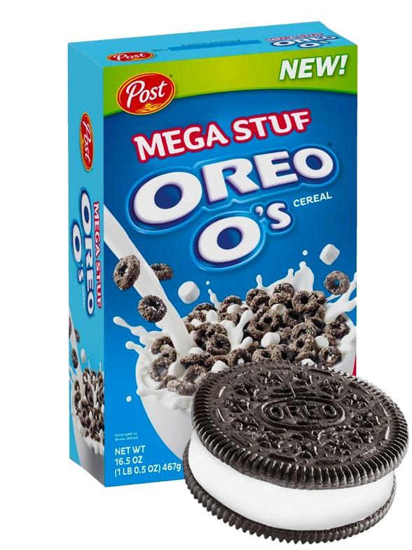 Cereales Oreo Mega Stuf | Big BOX 467 grs