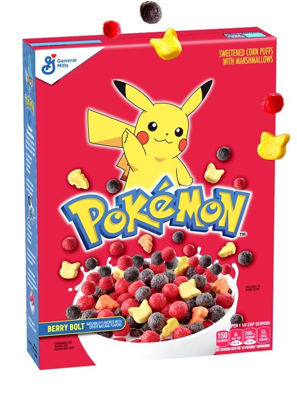 Cereales de Pokemon | Berry Bolt 292 grs