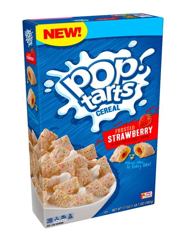 Cereales Pop Tarts de Fresa Glaseada 318 grs.