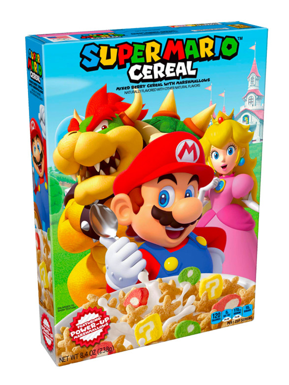 Cereales Super Mario Bros | Nuevo Diseño 238 grs