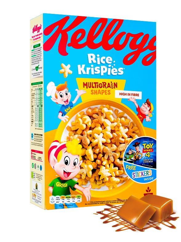 Cereales Rice Krispies de Toffee 350 grs.