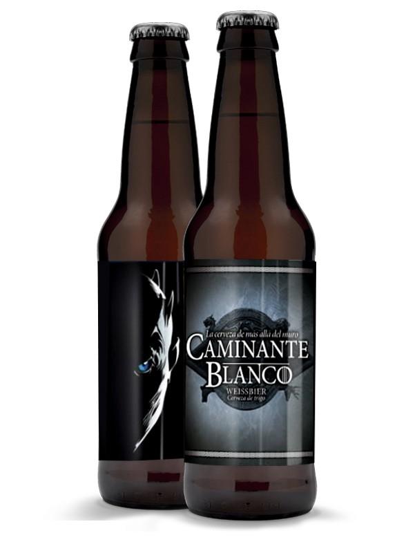 Cerveza de Caminante Blanco 330 ml.