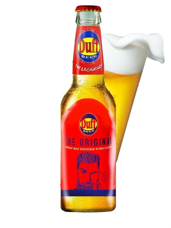 Cerveza Duff | Estilo Lager | Nuevo Diseño | Pedido GRATIS!