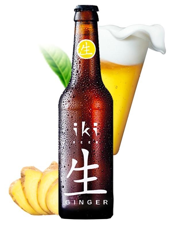 Cerveza Japonesa IKI Sencha Ginger 330 cl