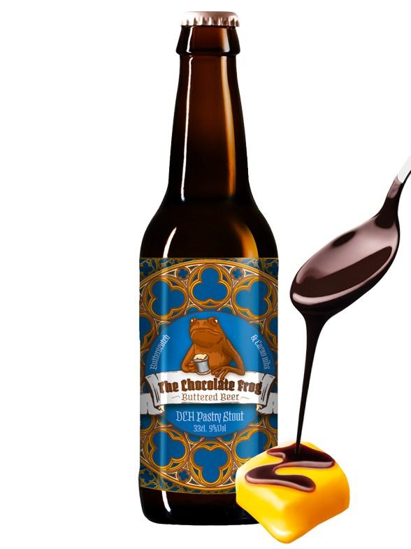 Cerveza de Mantequilla y Chocolate de Harry Potter | Con Alcohol 330 ml.