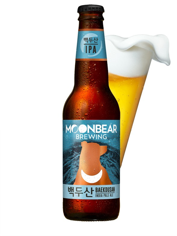 Cerveza Coreana Moonbear Baekdusan | IPA 330ml.
