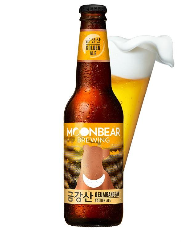 Cerveza Coreana Moonbear Geumgangsan | Golden Ale 330ml.