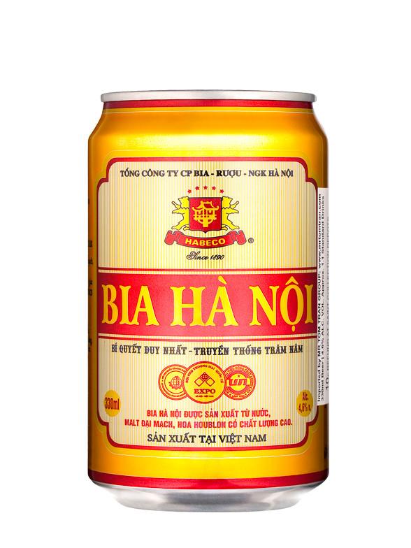 Cerveza Vietnamita Hanoi 330 ml.   Pedido GRATIS!