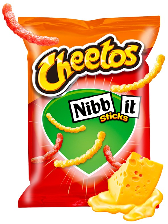 Cheetos Nibb It   Tamaño Jumbo 110 grs.
