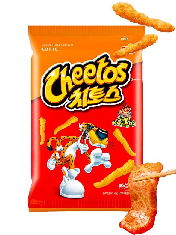 Cheetos Coreanos sabor Carne a la Brasa BBQ Coreana 88 grs