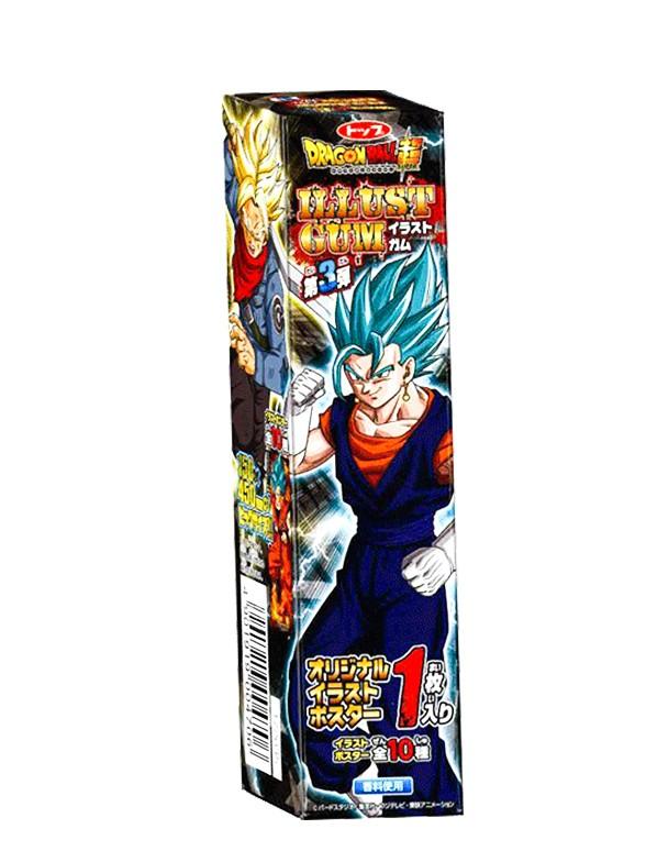 Chicles Dragon Ball Super con Tarjeta | 3 Edición Limitada