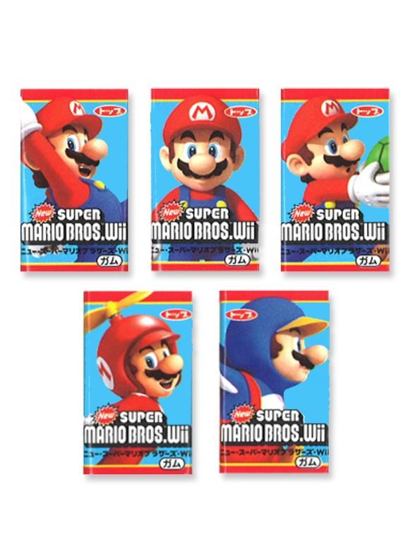 Chicle de Super Mario Bros con Sabor a Naranja | Unidad  Wii Edit.