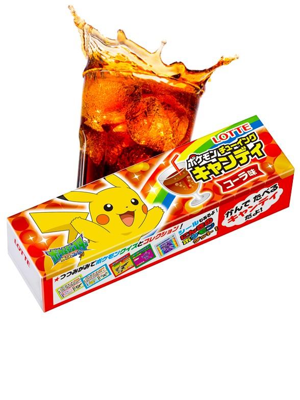 Chicles Pokemon Sabor Cola | 5 Diseños diferentes