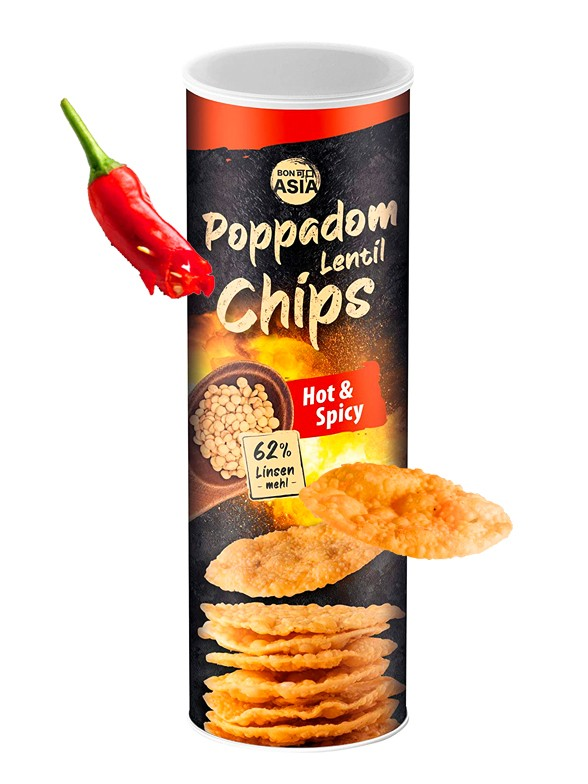 Chips de Lentejas Hot & Spicy 70 grs