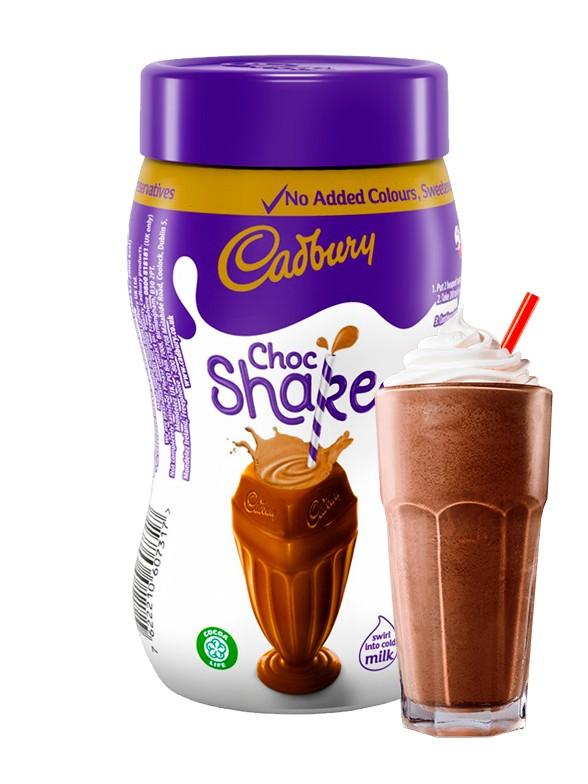 Chocolate para Batido Instantáneo Cadbury 280 grs