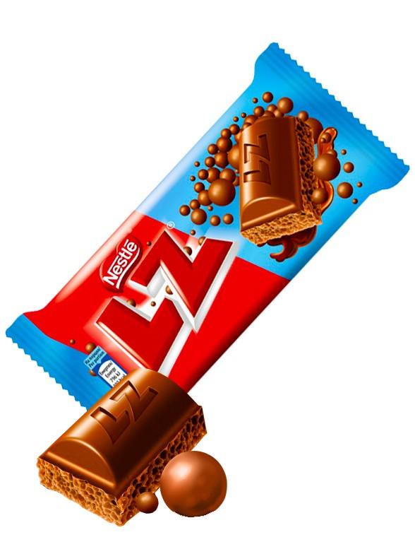 Chocolate Nestle LZ relleno de Mousse de Chocolate 35 grs