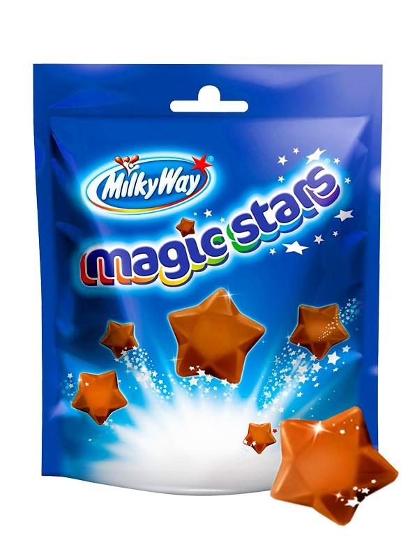 Estrellas de Chocolate y Nougat | Milky Way Big Bag 100 grs.