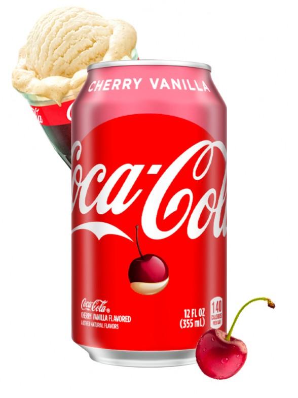 Coca Cola Cereza Vainilla | USA 355 ml