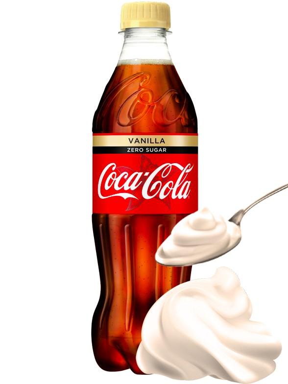 Coca Cola Vainilla Zero 500 ml
