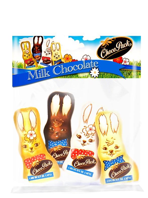 Conejitos de Pascua Chocolate con Leche 50 grs.