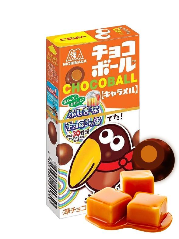 Pops de Chocolate y Caramelo | OFERTA TOP VENTAS NOVEDADES | Chocoball 28 grs