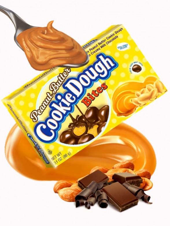 Cookie Dough de Mantequilla de Cacahuete con Chocolate 88 grs