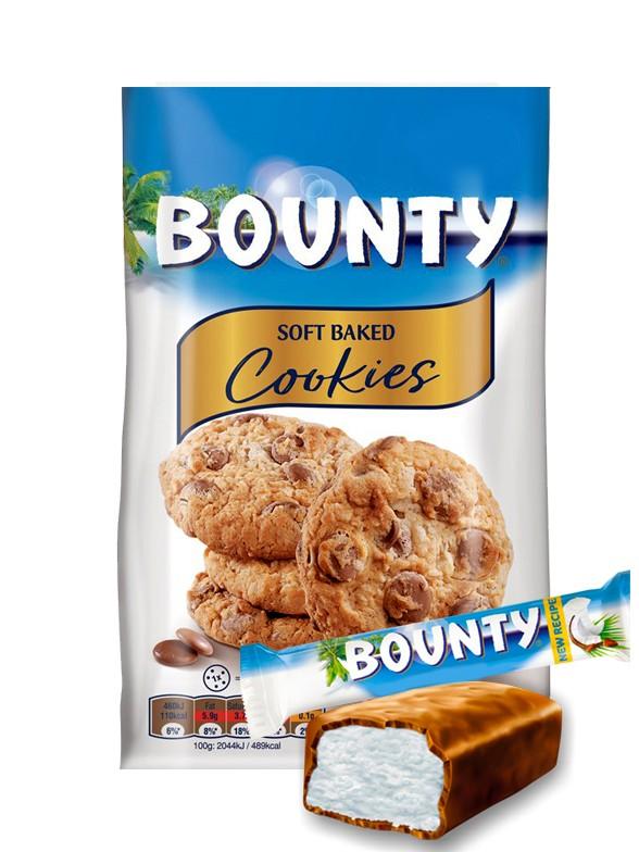 Cookies con Pepitas de Chocolate y Coco Bounty 180 grs