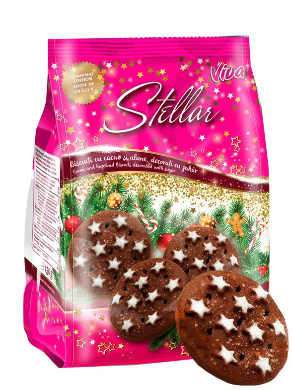 Cookies Chocolateadas de Navidad 150 grs