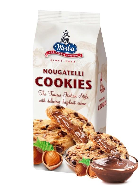 Cookies Toppings de Chocolate y Crema estilo Nutella 200 grs