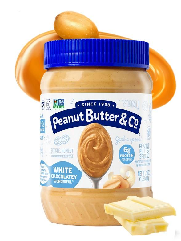 Crema de Cacahuete con Chocolate Blanco | 445 grs