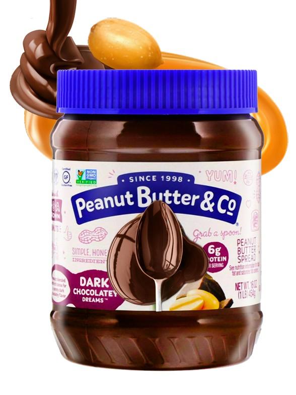 Crema de Cacahuete con Chocolate Negro | 454 grs