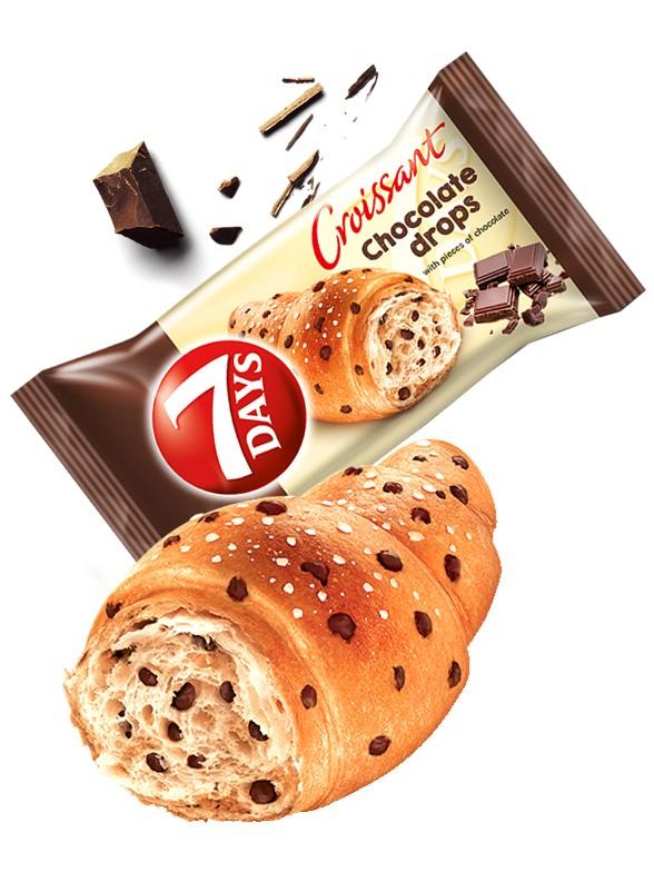 Cruasán con Toppings de Chocolate | Max 100 grs | Pedido GRATIS!