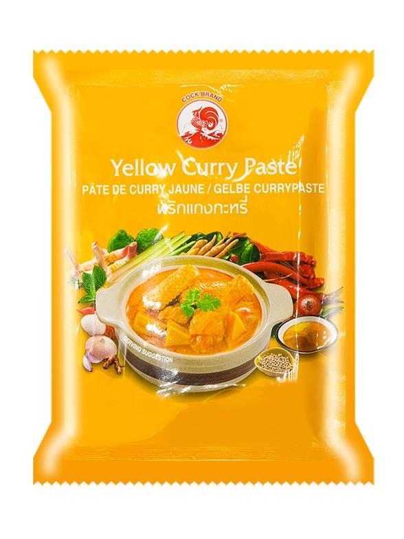 Curry Amarillo en Pasta | 50 grs.