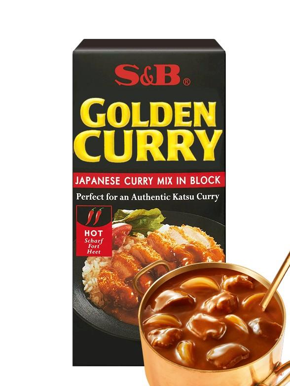 Curry Japonés con 35 Especias, Golden Curry | 5 raciones | Picante