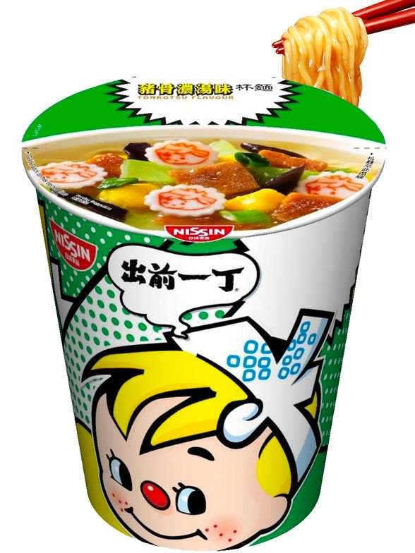 Demae Ramen Extra Cup   Tonkotsu   Fresh Sauce