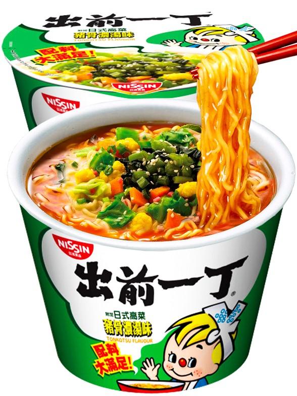 Demae Ramen Extra Big Bowl | Tonkotsu de Kyushu