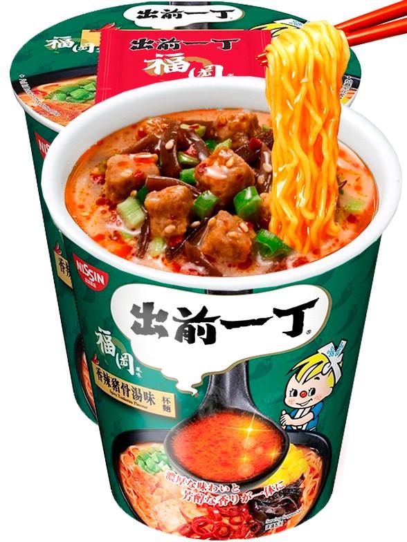 Demae Ramen Extra Cup   Spicy Tonkotsu Picante   Fresh Sauce 75 grs
