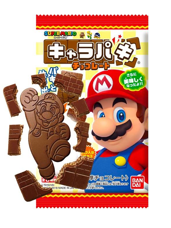 Chocolatina Super Mario con galletas | 25 grs.