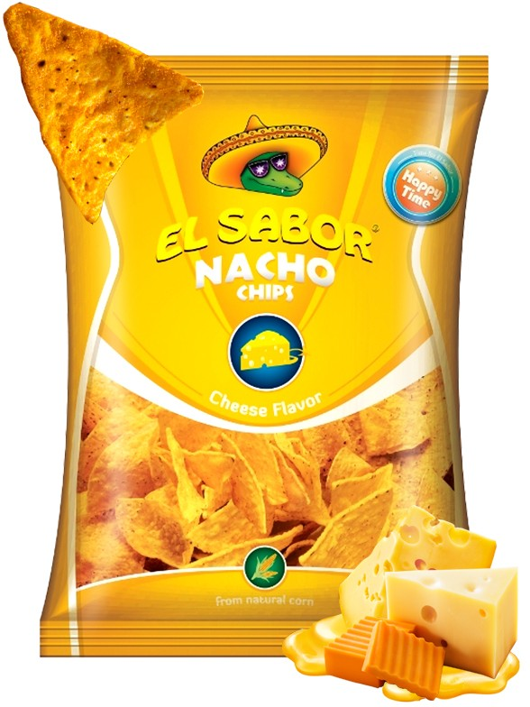 Nachos Sabor Queso 100 grs.