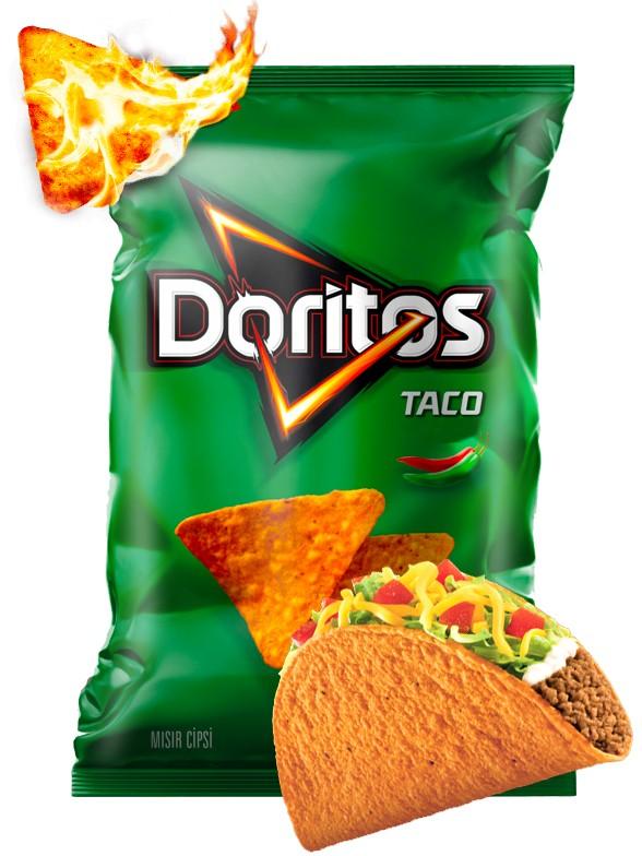 Doritos Picantes Taco Mexicano 100 grs