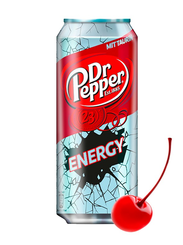 Dr. Pepper Energy 255 ml.