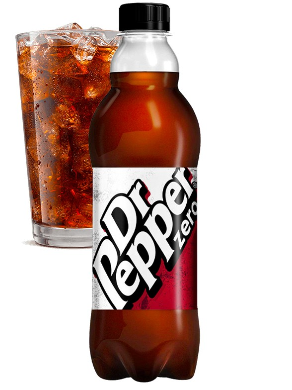 Dr. Pepper ZERO UK 500 ml.