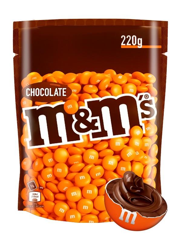 Nuevos M&M's Orange de Chocolate 220 grs