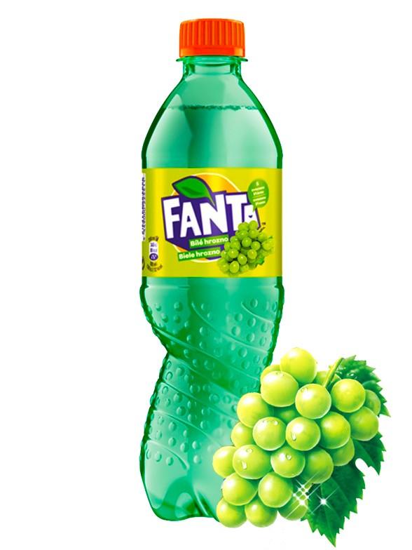 Fanta Uva Verde 500 ml