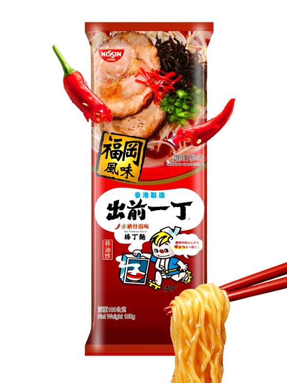 Demae Ramen Tonkotsu Picante de Fukuoka| 2 Raciones | Receta Tradicional 174 grs.