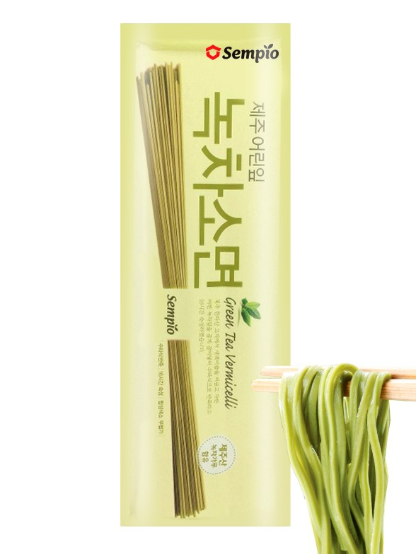 Fideos Coreanos Ramen Vermicelli de Té Verde