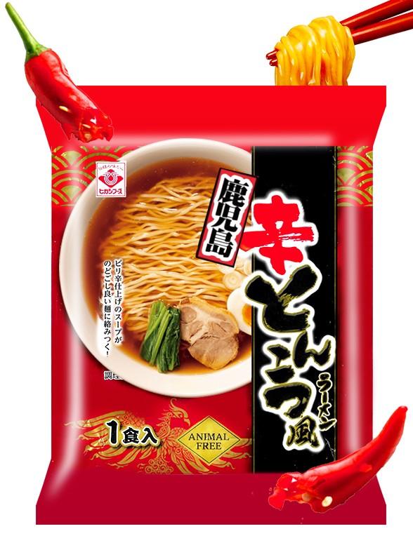 Ramen Tonkotsu Picante   Receta de Kagoshima   Veganos 78 grs.