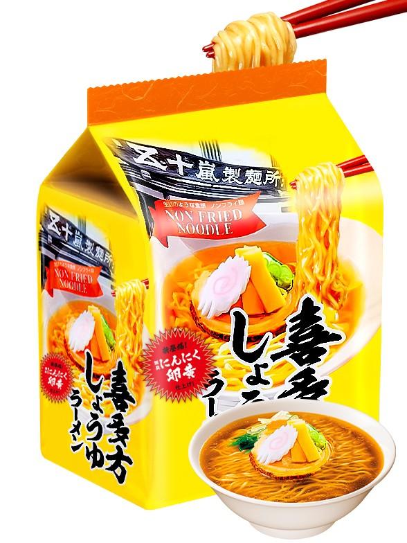 Fideos Ramen Kitakata Shouyu | 315. grs 3 uds