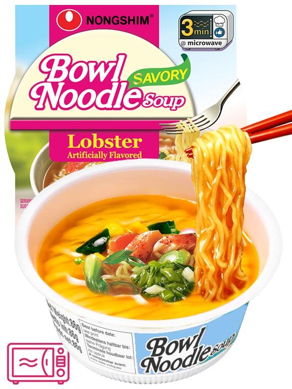 Fideos Ramen Coreanos Hot & Spicy con Langosta | Bowl Migug-in | USA