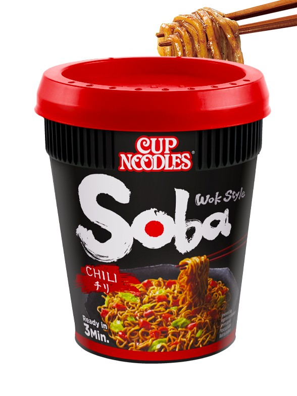 Fideos Yakisoba Nissin Strong Cup Chili 92 grs.